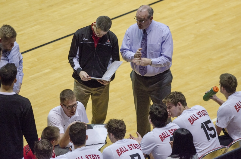 Ball State gearing up for 2nd half of MIVA schedule