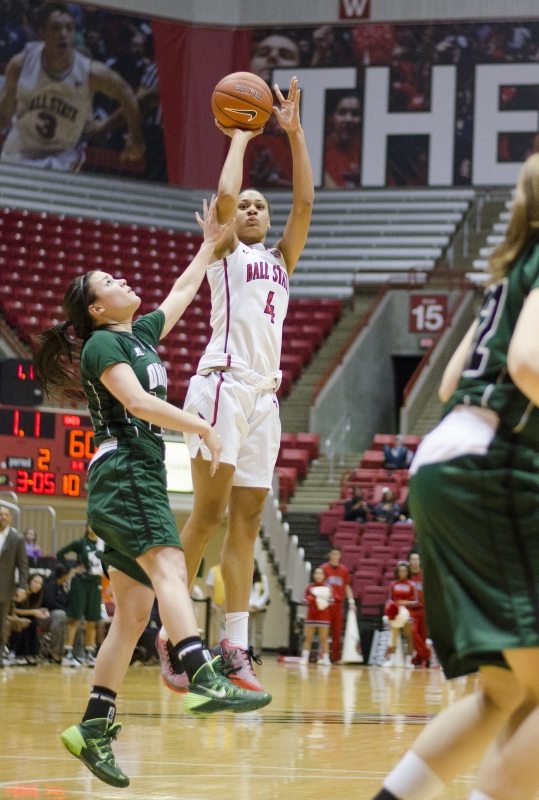 Winning streak ends as Ball State falls to Eastern Michigan