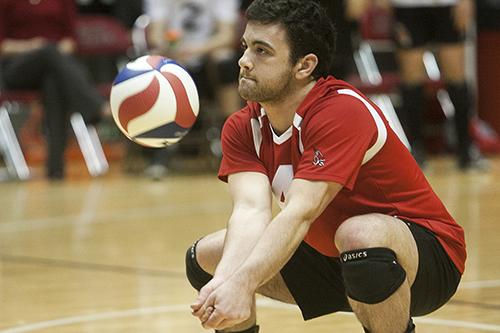 MEN'S VOLLEYBALL: Ball State downs No. 8 Ohio State in front of electric crowd