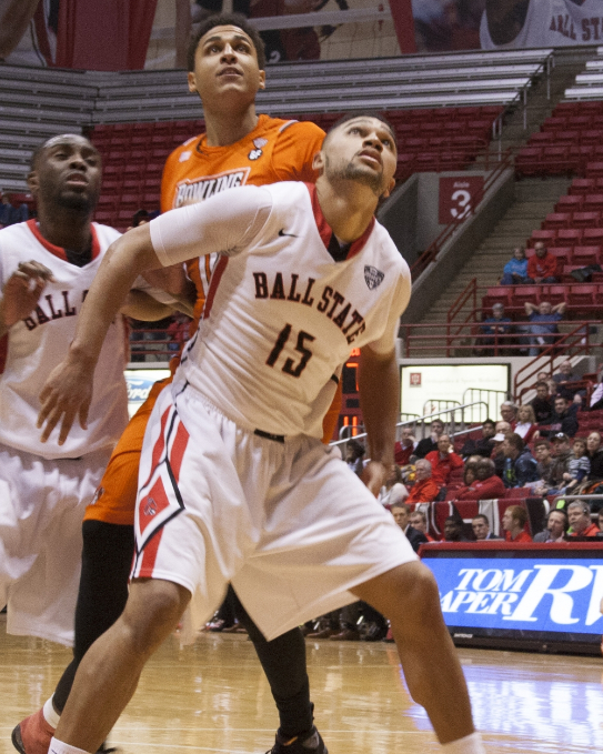 Ball State men's basketball moves past Bowling Green, 72-64