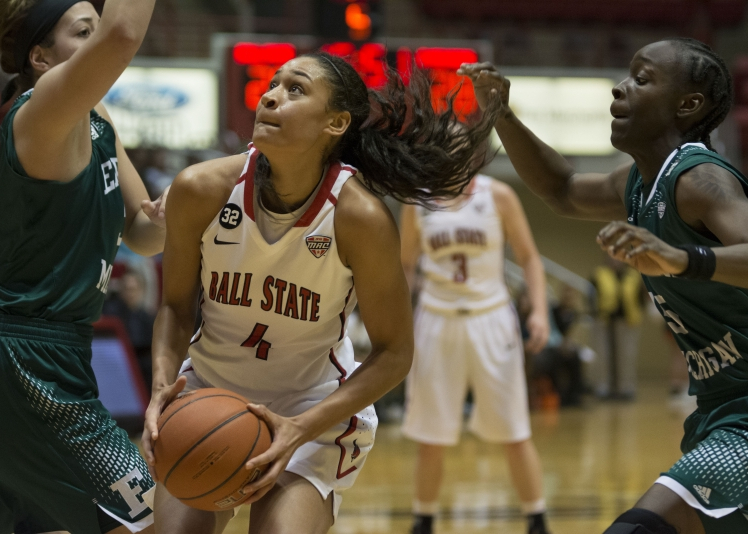 Ball State women's basketball defeats in-state rival Butler 58-50