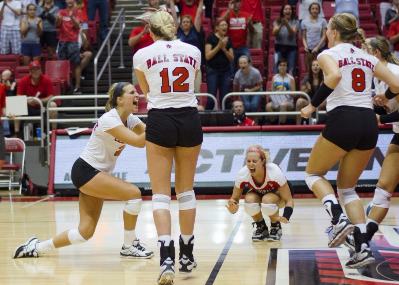 Ball State women's volleyball wins 4th straight match