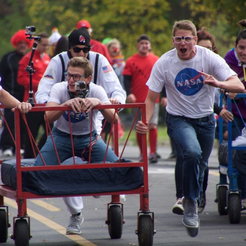 Cardinals prepare for 36th annual Bed Race