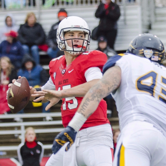 Ball State brings 'championship game' mindset to Toledo