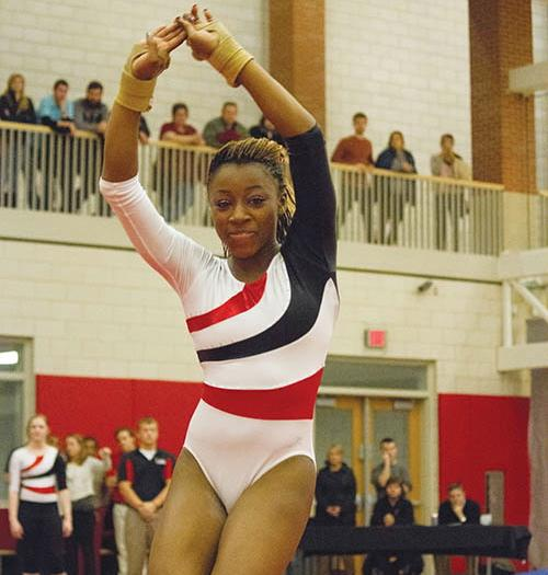 Freshman gymnast big part of previous wins