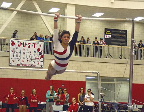 GYMNASTICS: Cardinals continue winning streak