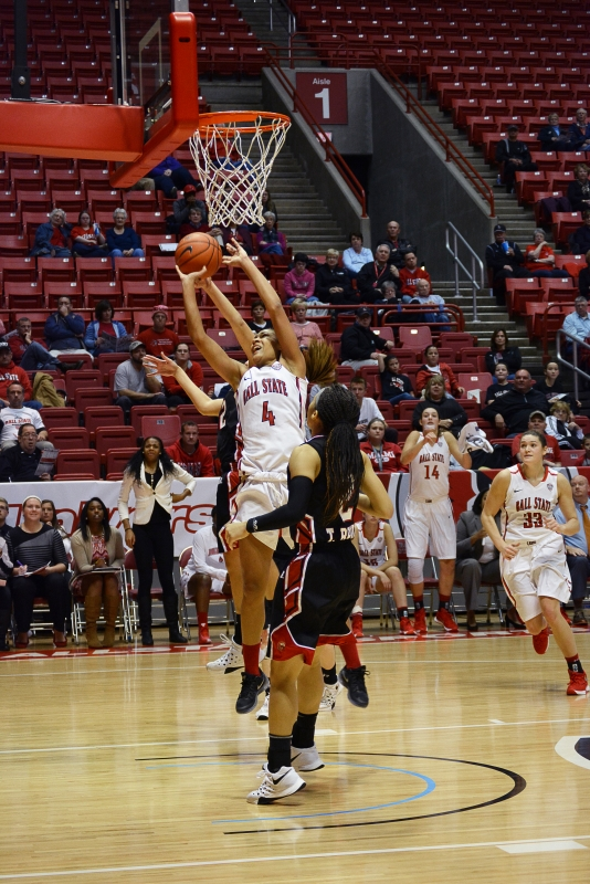 Ball State women's basketball tops Western Kentucky in home opener, 74-60