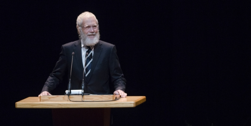 Letterman could return to Ball State, exhibit still in the works