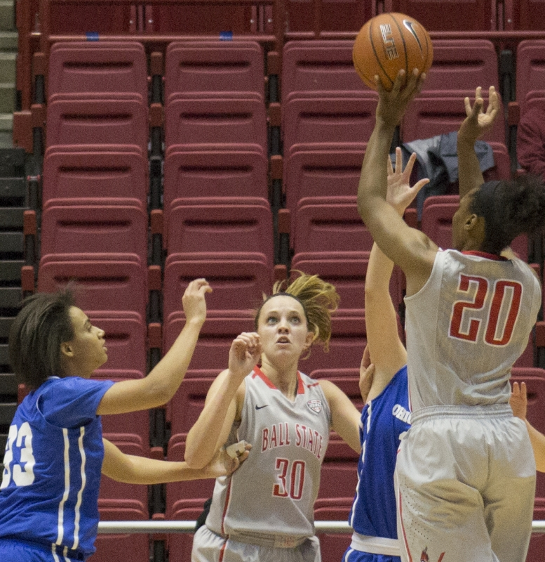 Bench play improves for Ball State women's basketball