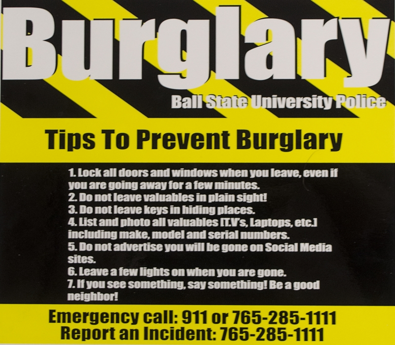 How to secure your home from burglars