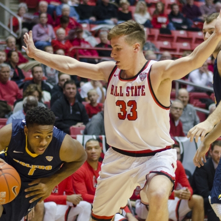 Ryan Weber's offensive leads Ball State men's basketball past Western Michigan