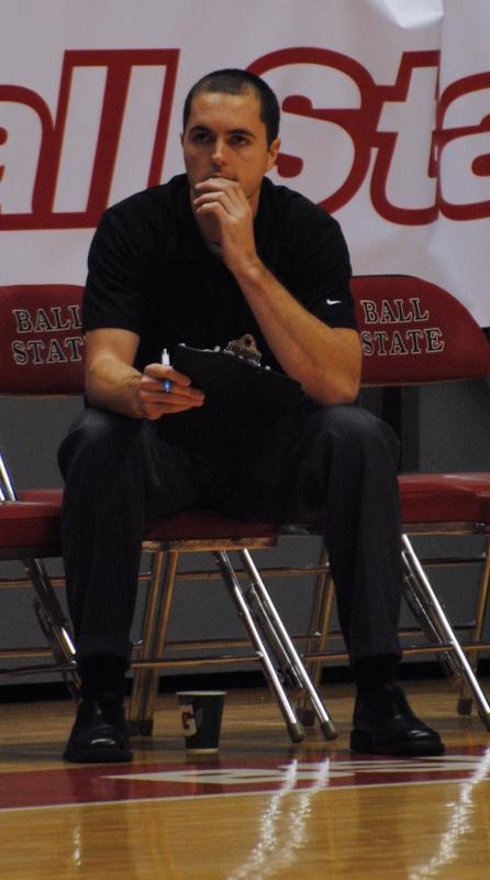 Men's volleyball alumnus returns to Worthen Arena as opposing coach