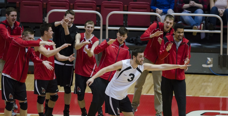 Men's volleyball to start Pennsylvania road trip