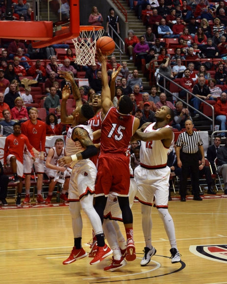 Ball State men's basketball upset in first round