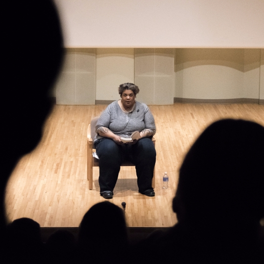 "Roxane Gay talks ""bad feminism,"" personal experiences at Women's Week lecture"