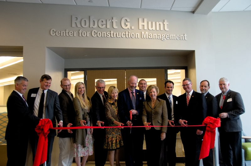 Robert G. Hunt Center opens in Applied Technology Building