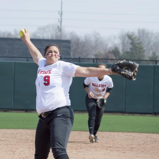 Softball looks to improve against Northern Illinois