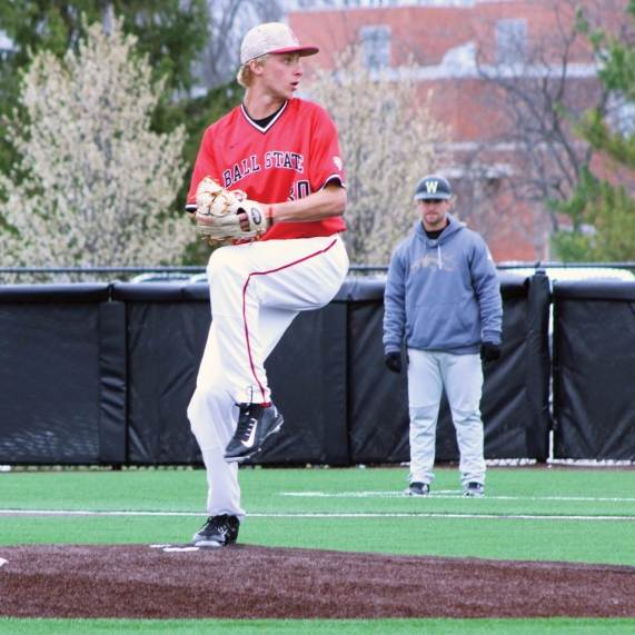 Ball State sweeps Western Michigan 41-6 in 3-game series