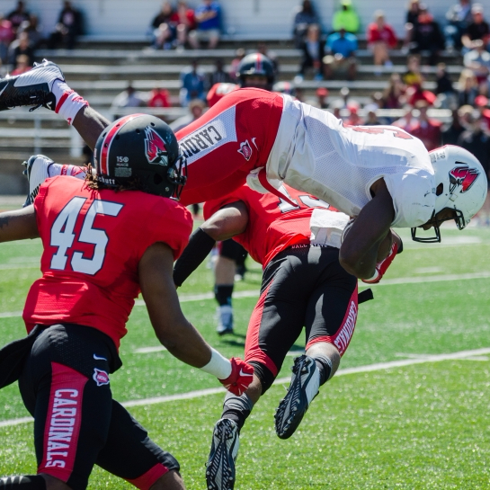 Big plays highlight Ball State football 2016 Spring Game