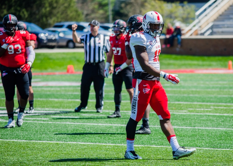 Ball State wide receivers shine in 2016 Spring Game
