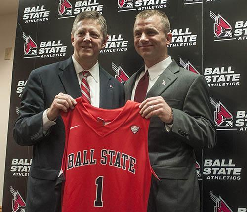 MEN'S BASKETBALL: James Whitford officially introduced as coach of Ball State
