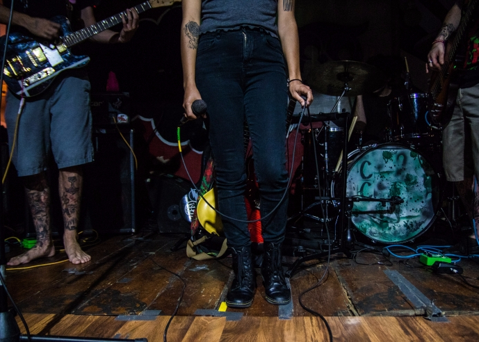 Local band, Cocaine Culture, plays first show at Be Here Now