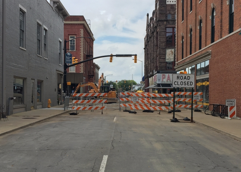 Downtown construction to bring benefits to local businesses