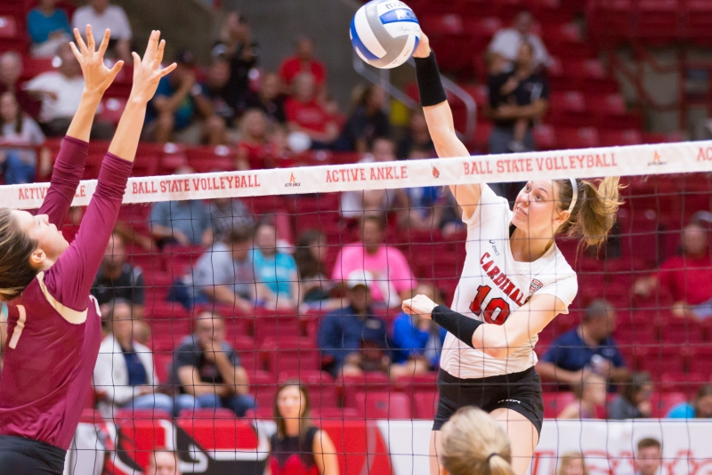 Ball State falls to Kent State in five sets