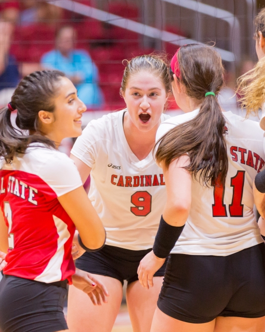 Ball State women's volleyball beats Eastern Michigan 3-2 ...