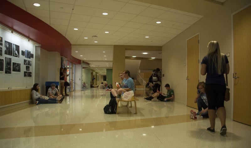 Students across campus react to lockdown, university notification system
