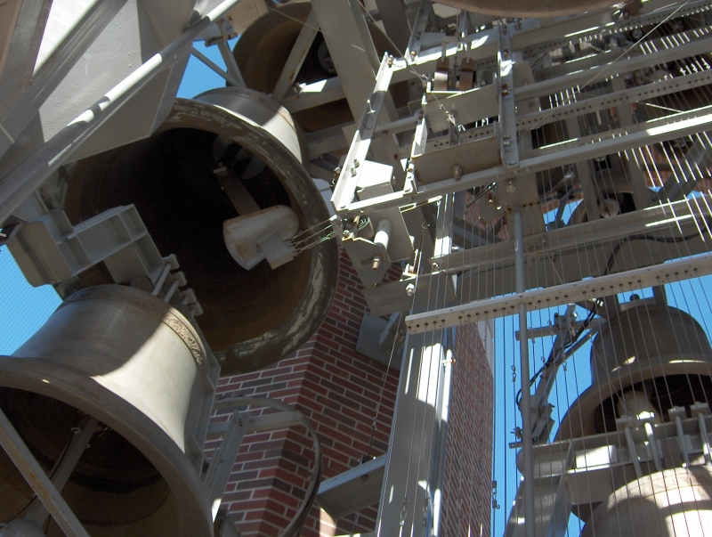 Carillon brings musical charm to Shafer Tower