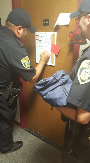 UPD officers assigned to residence halls to make connections with students