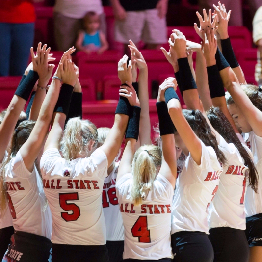 Ball State women's volleybal hits the road to play Eastern, Central Michigan