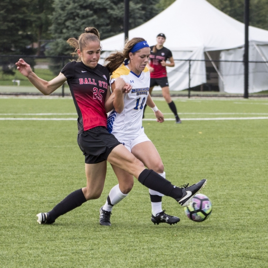 Ball State soccer beats Morehead State 4-0 on Senior Day