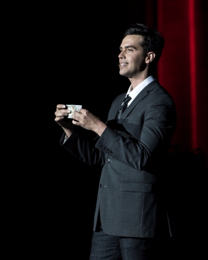 TruTV's Michael Carbonaro 'shows tricks' at Emens