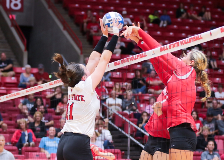 Ball State volleyball takes tough fall to MAC rival Toledo