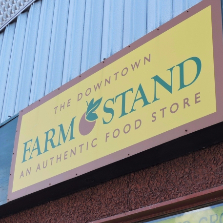 The Downtown Farm Stand loses revenue from construction