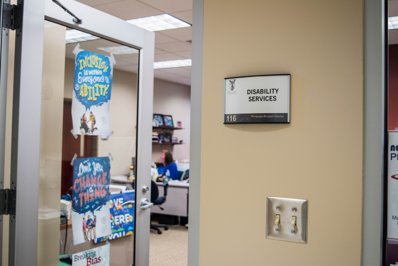 Disability Services continues to accommodate, adapt to students needs