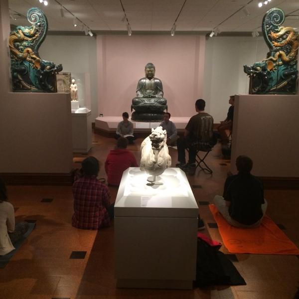 Mindful Meditation program held on campus