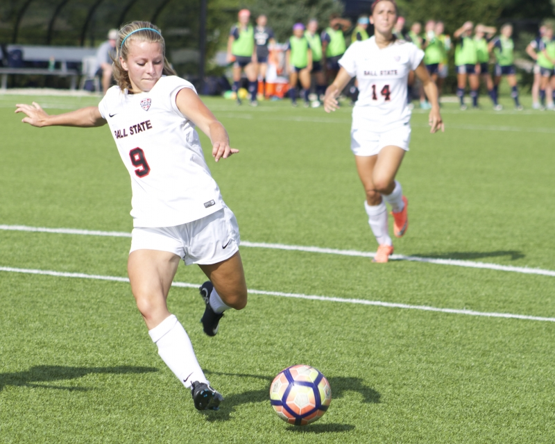 Ball State soccer takes winning streak to Eastern Michigan, Central Michigan