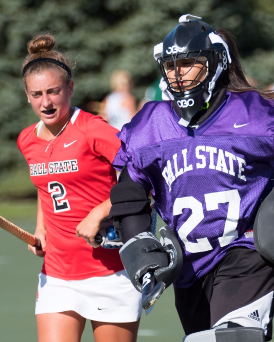 Late first-half penalty costs Ball State field hockey