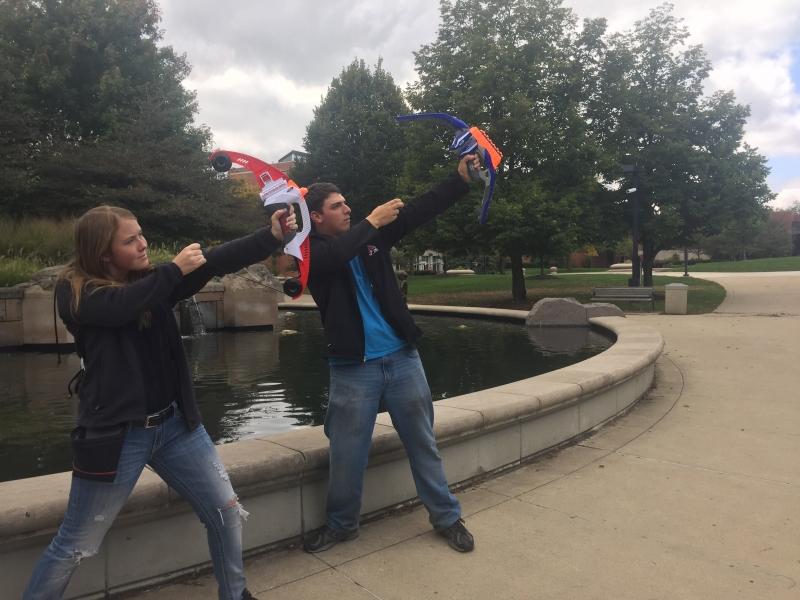 Urban Gaming League takes to campus, hosts Nerf Gun wars
