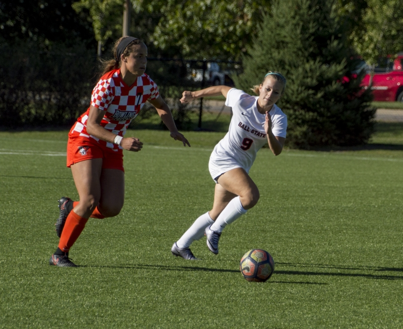 Ball State soccer extends unbeaten streak to nine games