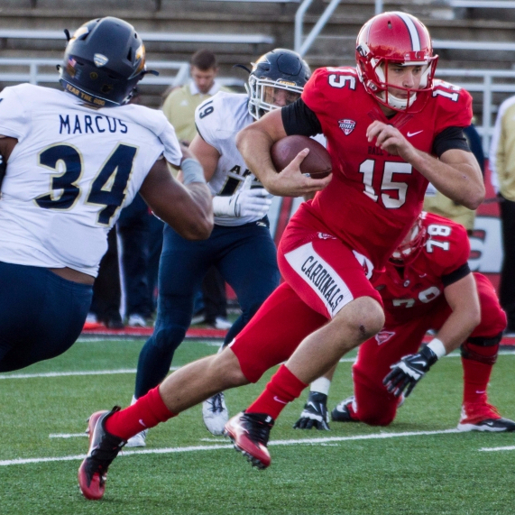 Neal and passing game continue to struggle in loss to Akron