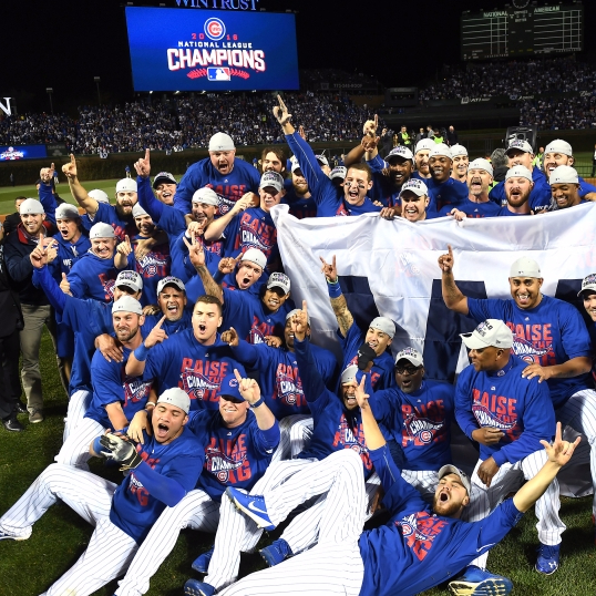 GENERALLY SPEAKING: Tears of joy, the Chicago Cubs and the World Series