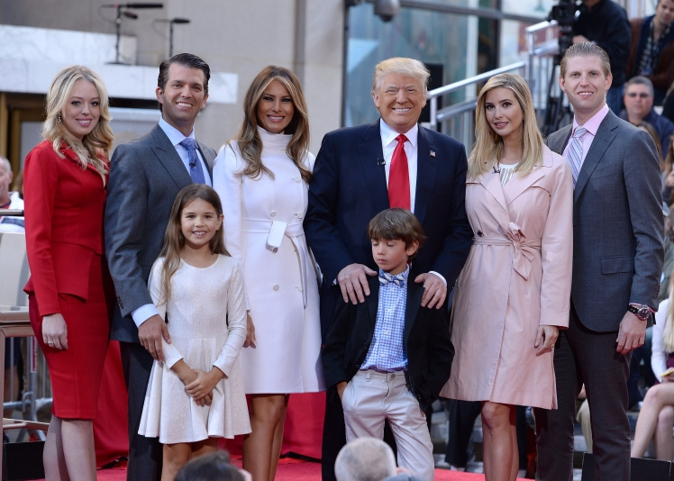 A look at the Trump first family