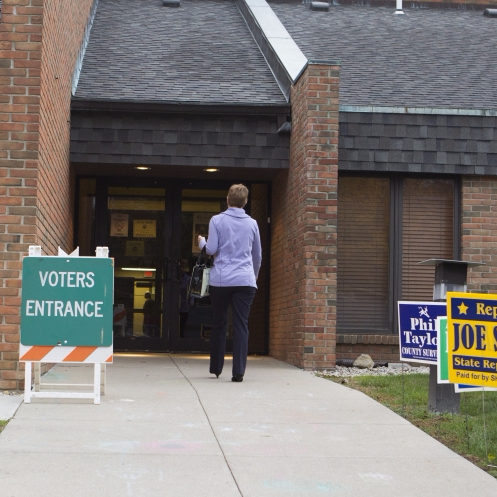 Some voters turned away from polls on Election Day