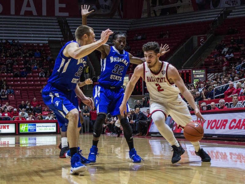 Sloppiness plagues Ball State in home-opening overtime loss to Indiana State