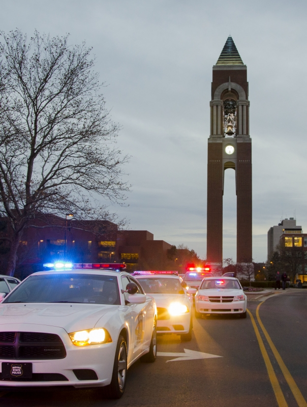 Fewer reported car accidents to University Police