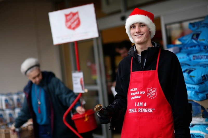 Salvation Army hosts annual Red Kettle Campaign